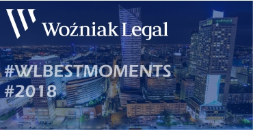 2018 – Woźniak Legal's Ground Breaking Work Over the Last Twelve Months Is a Game Changer - Woźniak Legal