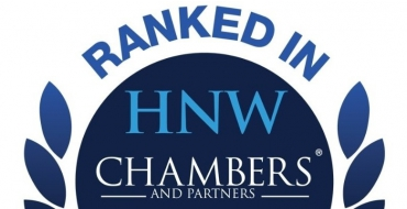 Woźniak Legal ranked Band 2 in Chambers and Partners' HNW Guide - Woźniak Legal