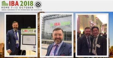 IBA Annual Conference in Rome - Woźniak Legal