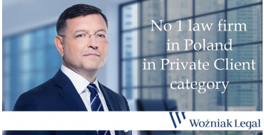 The Number One Private Client Law Firm for the Third Time in a Row - Woźniak Legal
