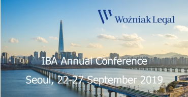 Meet Us in Seoul at the Annual IBA Conference 2019 - Woźniak Legal