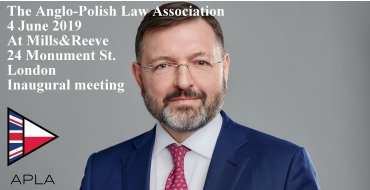 The Inaugural Meeting of APLA in London on 4 June 2019 - Woźniak Legal